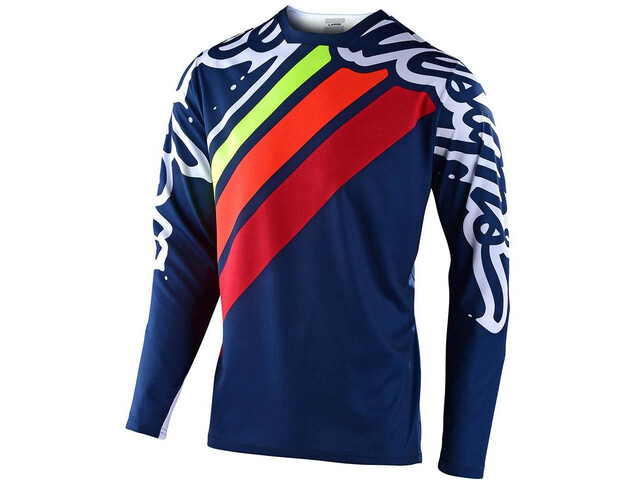Troy Lee Designs Sprint Factory LS Jersey navy/red